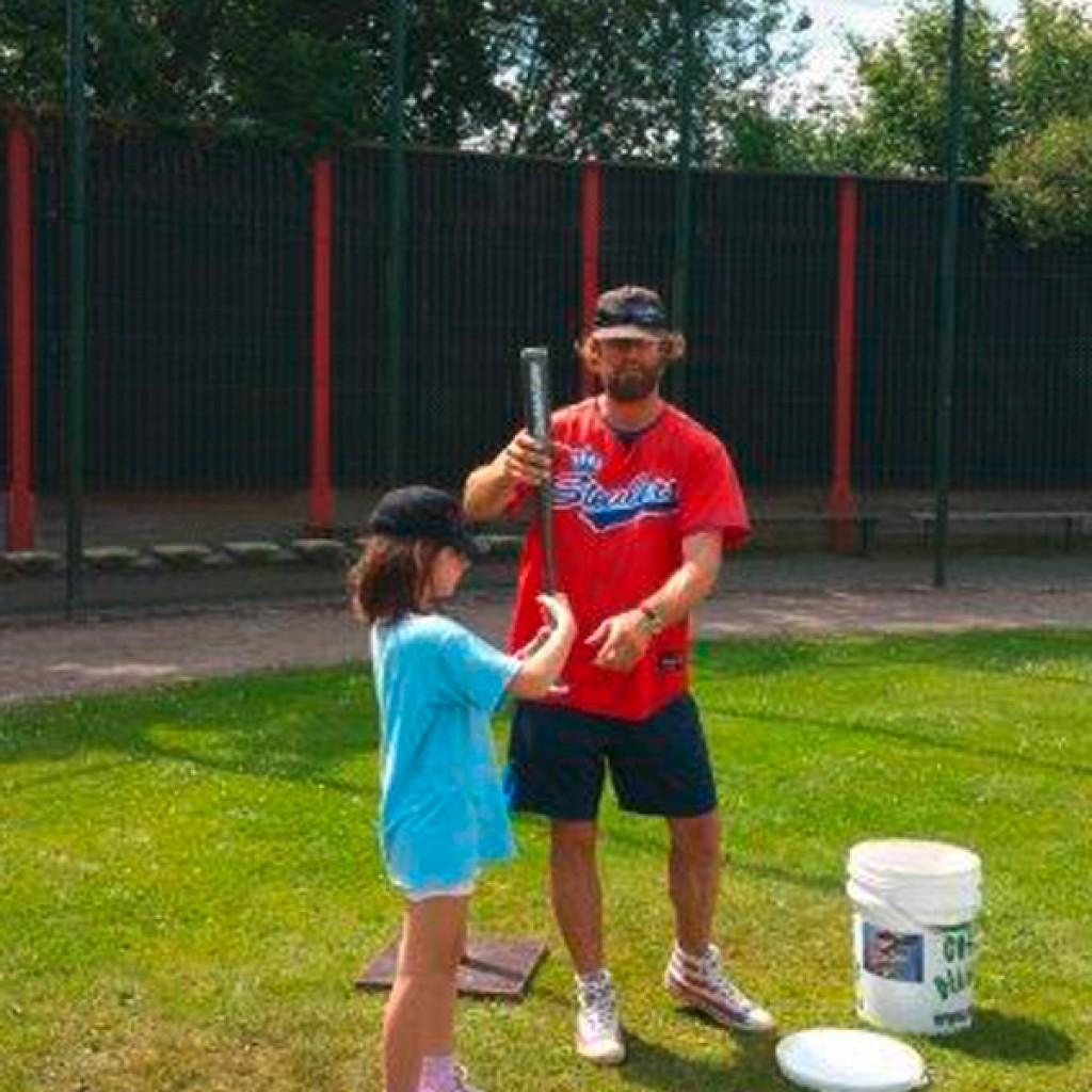 Im Baseballcamp