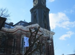 Ausflug der 4b zum Hamburger Michel mit Führung und Turmbesteigung