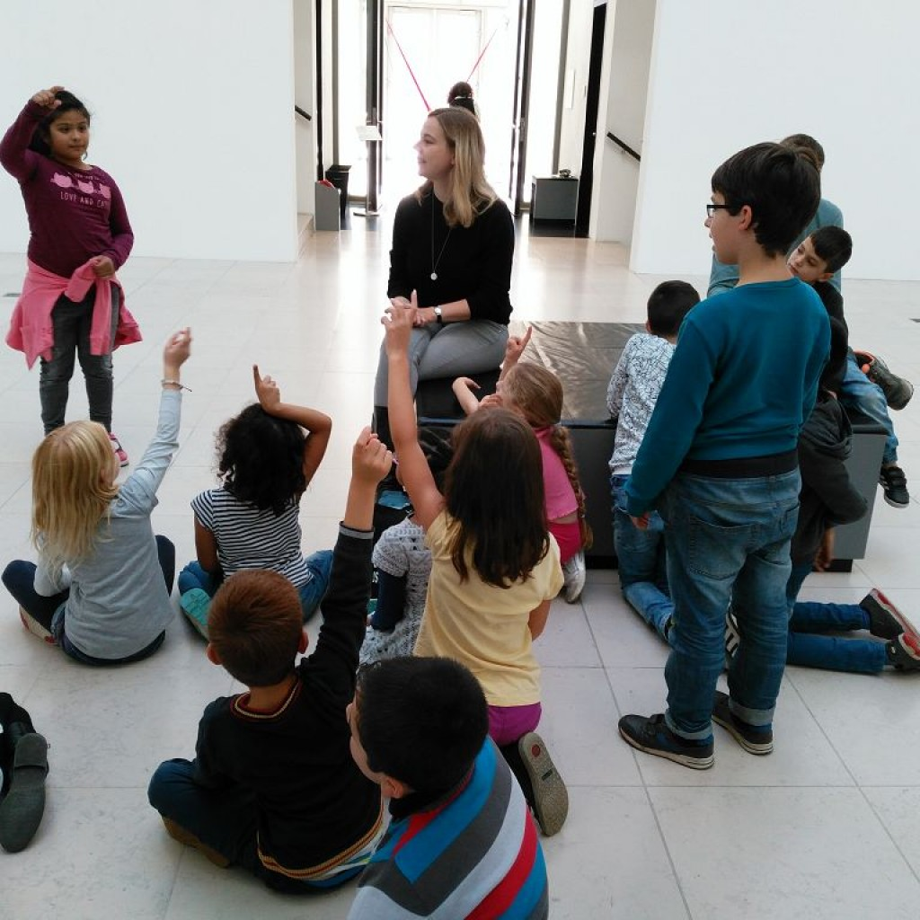Die 2a in der Kunsthalle